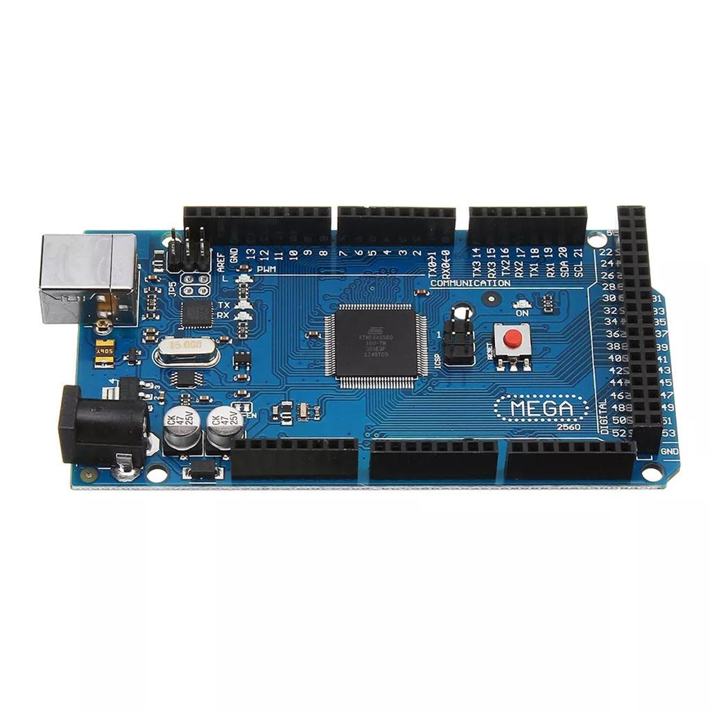 2PCS ATMEGA2560-16AU ATMEGA16U2 Board Free USB Cable For ARDUINO MEGA 2560 R3