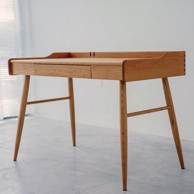 1.2 meters Cherry dining room set solid wood 5c64f60d9b568