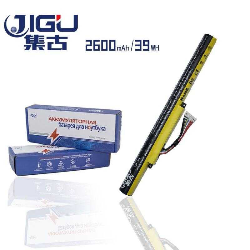 JIGU 2600mAHLaptop Battery For Lenovo L12S4K01 L12L4K01 For Ideapad Z400 Z400S Z400A Z400T Z510 Z510A Z500 Z500A jigu new battery l11l6y01 l11s6y01 for lenovo y480p y580nt g485a g410 y480a y480 y580 g480 g485g z380 y480m