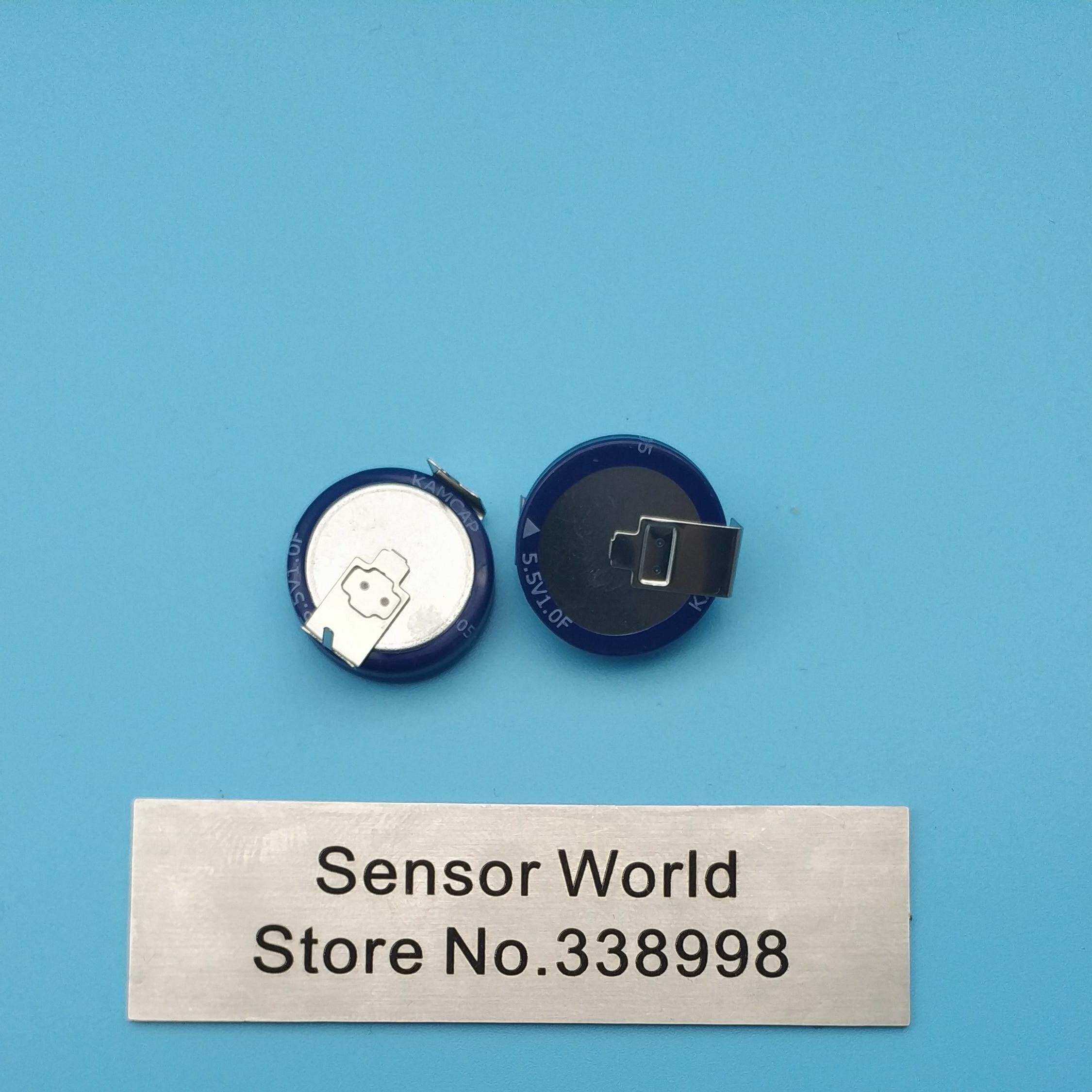 ghdonat.com 2PCS 1F 5.5V Farad Capacitor 5.5v 1F 1.0F Super ...