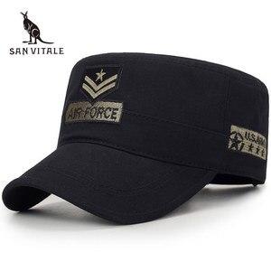 Baseball Cap Men Hats For Jeans Dad Hat Trucker Air Force Army Golf Bone Pokemon Casquette Fashion Causal Snapback Man Black(China)