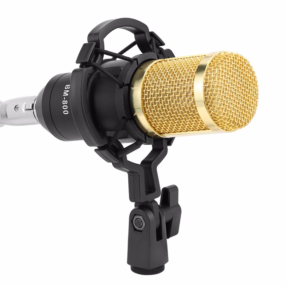 Profesional bm 800 estudio micrófono bm-800 micrófono de condensador Kits paquete micrófono de Karaoke bm 800 para computadora Mikrofon - 6