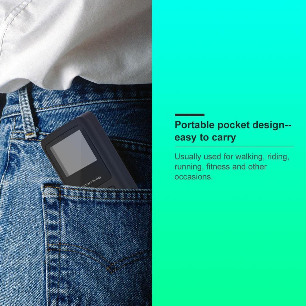 Unterhaltungselektronik Radio Tragbare Tasche Tupfen Digital Radio Receiver Bluetooth Mp3-player Mit Kopfhörer äRger LöSchen Und Durst LöSchen