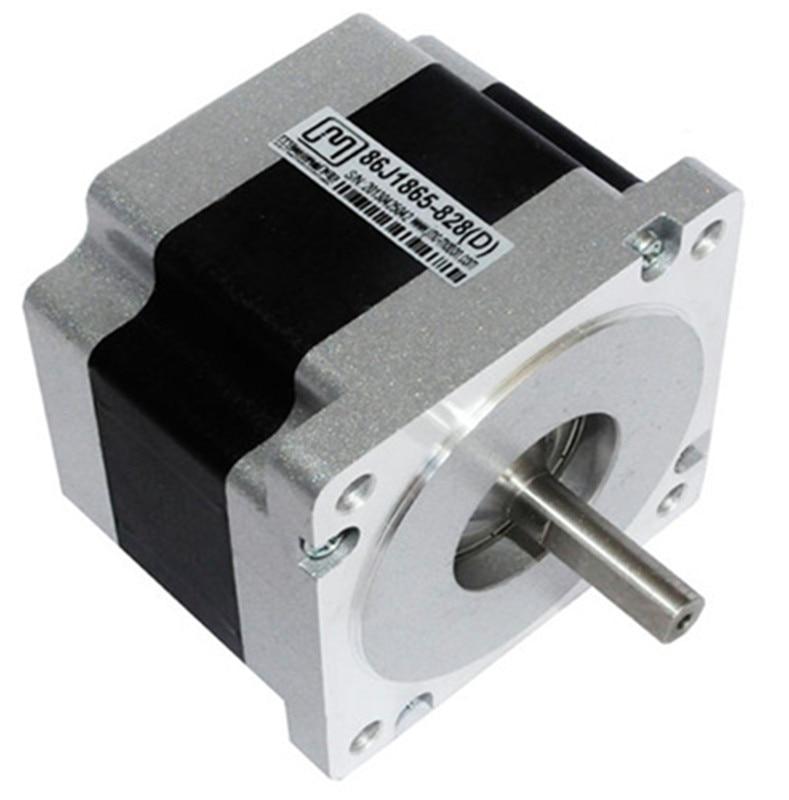 цена на Nema 34 2phase 3.5N.m 496ozf.in stepper Motor 86mm frame 9.5mm shaft 86J1865-828 JMC