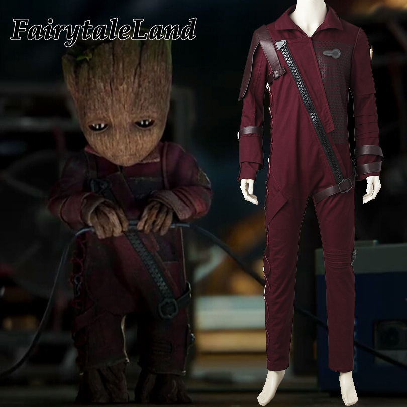 Guardians of the Galaxy 2 Baby Groot costume Halloween costumes superhero fancy jumpsuit custom made cosplay Baby Groot