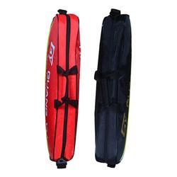 Grande tamanho badminton sling saco 3 pces pacote saco de badminton mochila