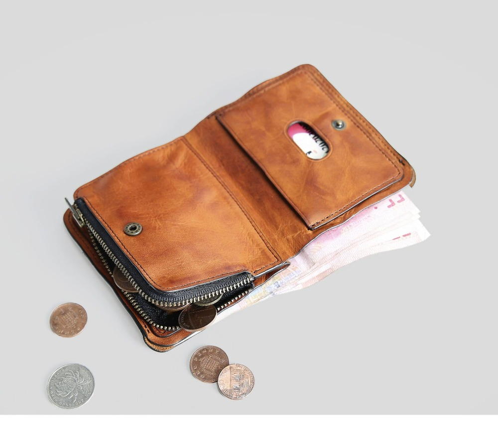 SIKU men s leather wallet case fashion men wallets brand coin purse holder male wallet