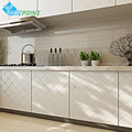 60cmX5m Pvc waterproof self adhesive film gold grid/silver line vinyl wallpaper kitchen cabinet desktop door decorative sticker