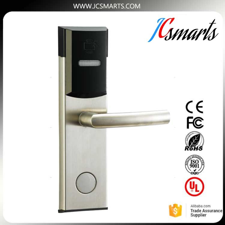 Smart design RF card digital door lock Intelligent hotel lock AA battery powered dampproof and dustproof hot selling rf smart card digital sauna cabinet lock