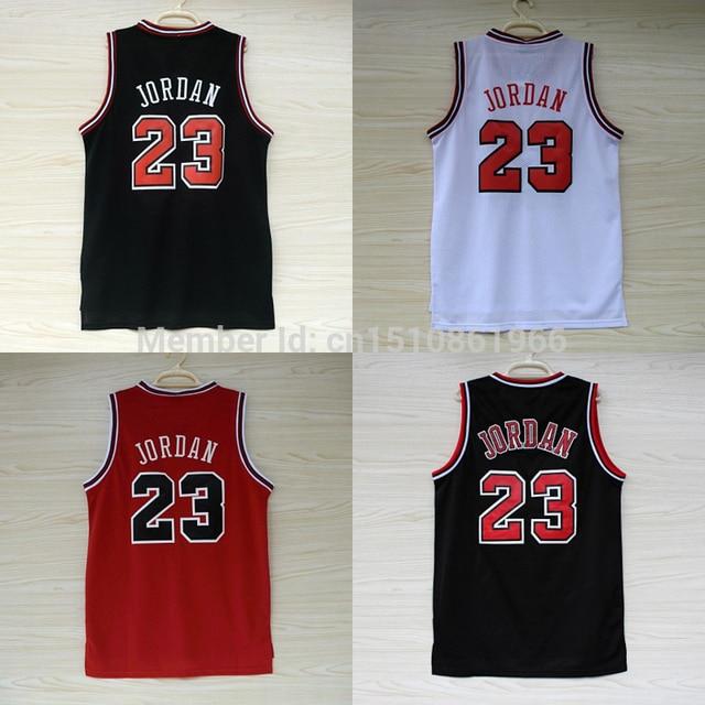 cozy fresh be7f3 b1d1b US $24.0 |Michael Jordan Retro Throwback Basketball Shirt Basketball Jersey  Number #23 Jordan Basketball Jersey Black White Red Yellow-에서Michael ...