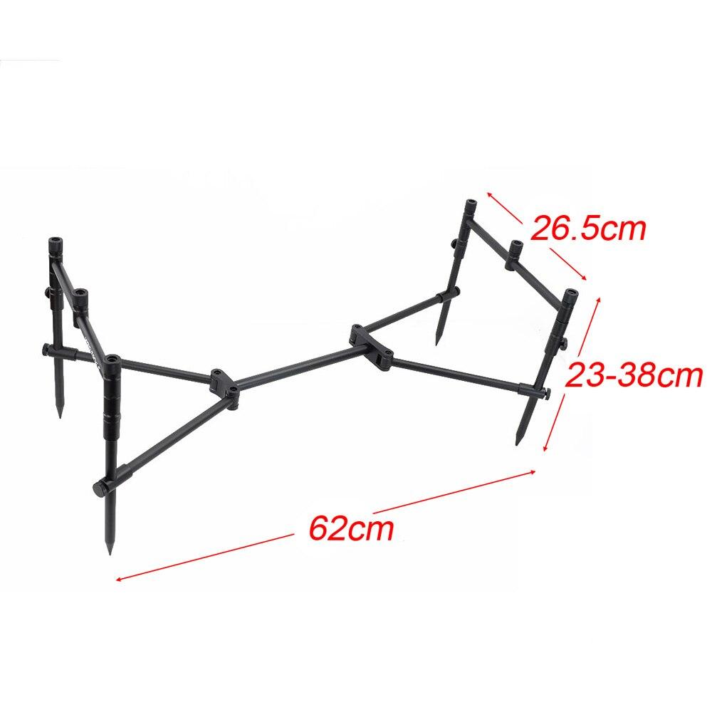 Image 3 - Vara de pesca da carpa pod conjunto para 3 hastes com 4 pçs suporte de pesca estágioFerramentas de pesca   -