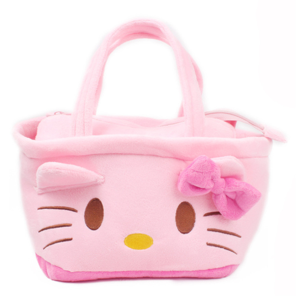 Cute Cartoon Hello Kitty Handbag for 1 to 3 Year Kids Children Lovely Lunch Box Handbag