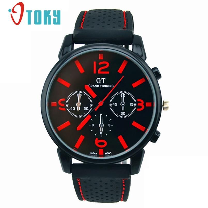OTOKY 1PC Men Fashion Stainless Steel Sport Cool Quartz Hours Wrist Analog Watch Mens Hours Clock Relogio