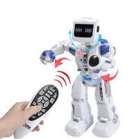 RC Smart Robot Hybrid AI Clapping Sencing Walking Space Robot Toys 180 Degree Deformation Intelligent Robot Children Toy Gifts