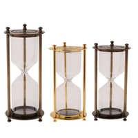 Maison cuisine vide sable verre Case sablier 3/5/10/15/20 Minute sable traditionnel heure verre cuisine minuterie Portable