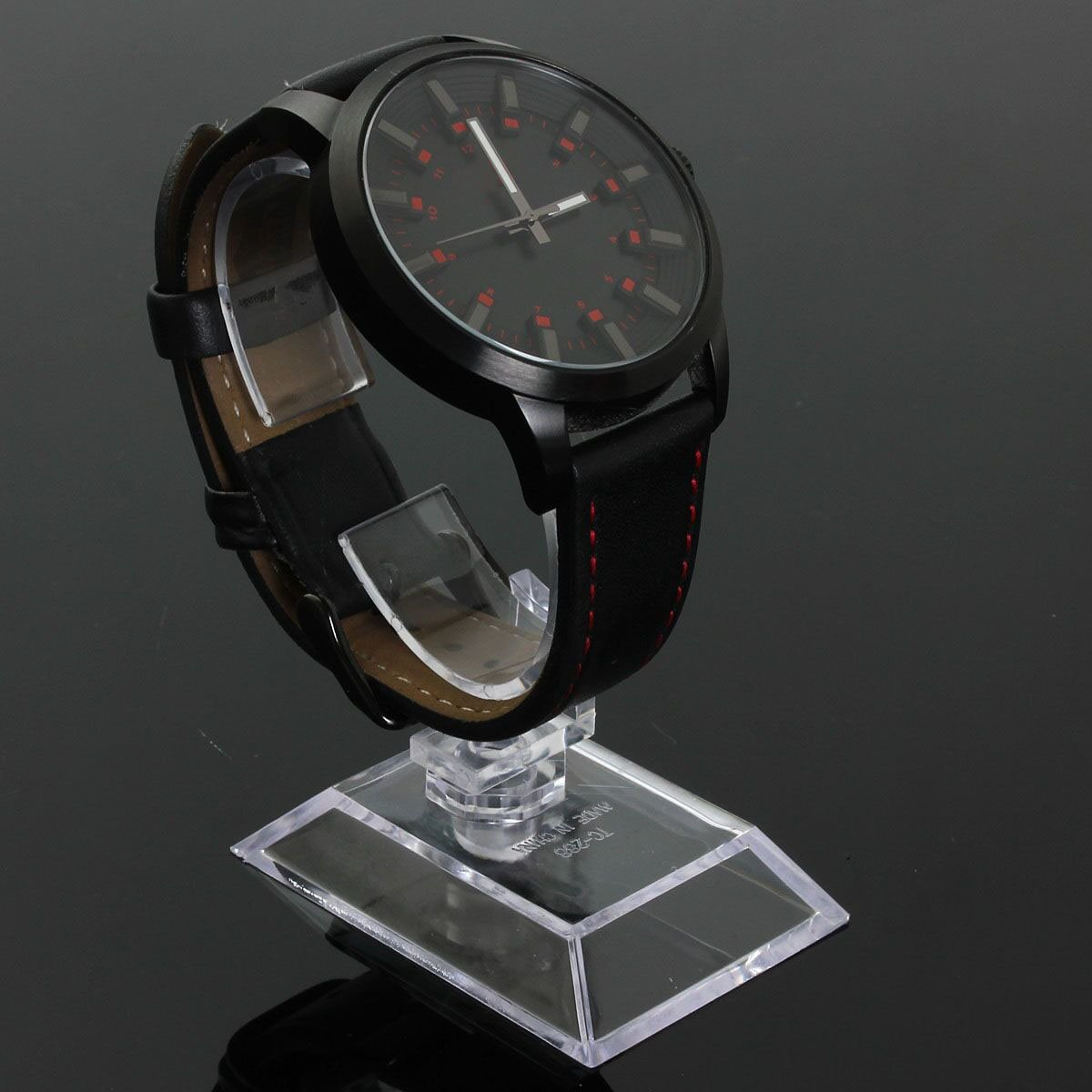 YCYS-1ps Clear Acrylic Bracelet Watch Display Holder Stand Rack Retail Shop Showcase Top Quality