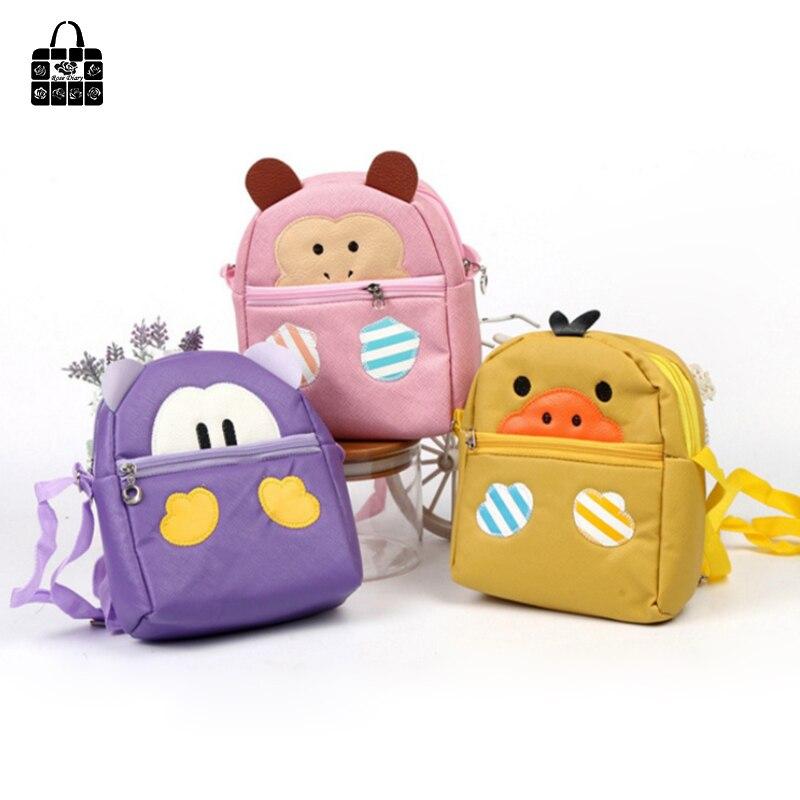 Rose Diary Fashion Cartoon PU Shoulder Bag Purse Key Bag Phone Bag Cute Childrens Double Zipper Messenger Bag Childrens Gift