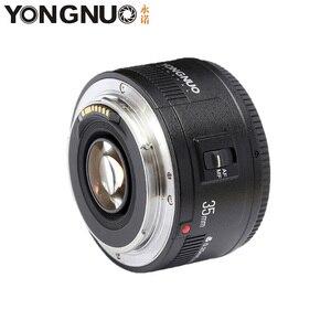 Image 2 - 용인 35mm 렌즈 YN35mm F2 렌즈 1:2 AF/MF 광각 고정 초점/대형 조리개 자동 줌 렌즈 Canon EF Mount EOS 카메라