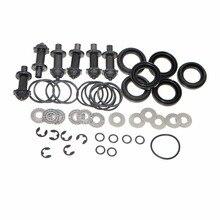 Sale 6 Set 6 Torx Rear Pump Servo Caliper Motor Connection Screw Washer For A6 Q3 VW Passat B6 B7 Sharan Seat Alhambra II 32326315
