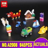 In Stock Lepin 42008 New 945Pcs Creative Series The 10704 Creative Box Set Building Blocks Bricks