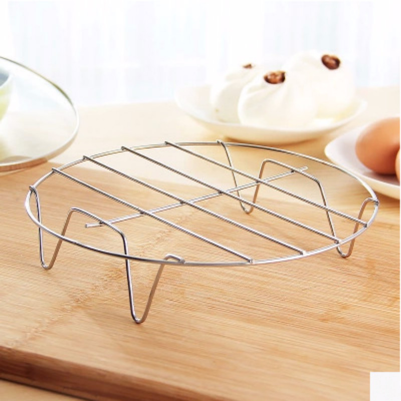 1 Pc Stainless Steel Steamers Kitchen Gadget High Quality 19.5*19.5*4cm Steamed Rack Kitchen Accessories Drop Shipping