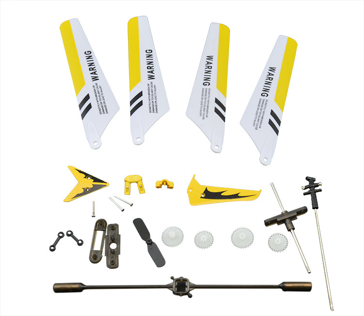 SYMA S107G remote control aircraft Main Blades Rotor Blade Propellers Gears Flybars RC Helicopter accessories Spare Parts
