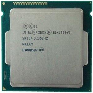 Image 2 - インテル xeon E3 1220 V3 3.1 ghz の 8 メガバイト 4 コア SR154 LGA1150 cpu プロセッサ