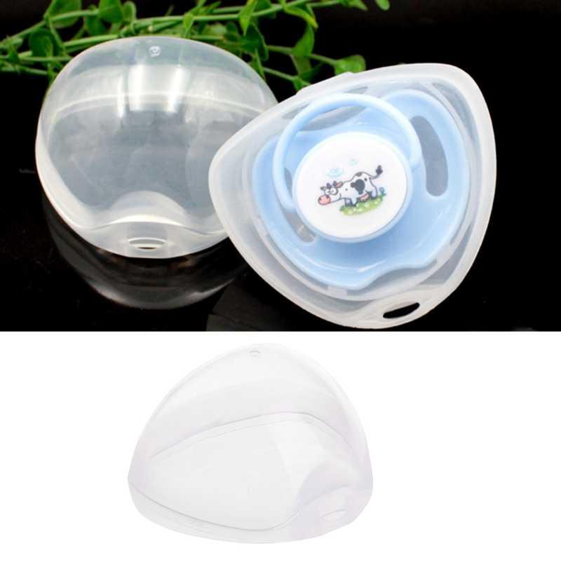Portable Baby caja para tetina niño niña chupete estuche para cuna titular caja de calmante