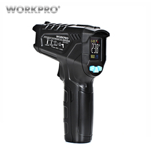 WORKPRO Non-contact Digital Infrared Thermometer Multi-function IR Laser Thermometer Temperature Meter Gun 50-550 Degree non contact infrared thermometer industrial thermometer ir laser thermometer laser gun 32 to 380 degree tasi 8606