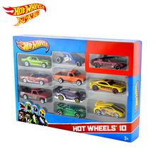 Hot Wheels 1: 64 мини-модель трек ESS BSC 10 автомобильный комплект игрушек для детей Diecast Hotwheels 54886 модели автомобилей подарок на день рождения для детей