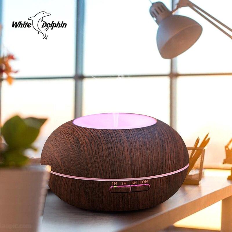 все цены на Home 300ml Aroma Essential Oil Diffuser Led Light Mist Maker Forgger Ultrasonic Diffuser Aromatherapy Cool Mist Air Humidifier онлайн