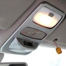 Для Renault Captur samsung QM3 2013- матовый АБС-пластик, аксессуары для интерьера, передний светильник для чтения, Накладка для лампы, 1 шт