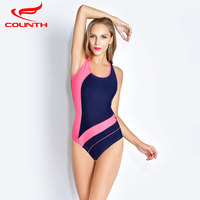 Plus Size Swimwear 2017 Summer Beachwear Swim Suit Print Vintage One Piece Swimsuit Women Bathing Suits