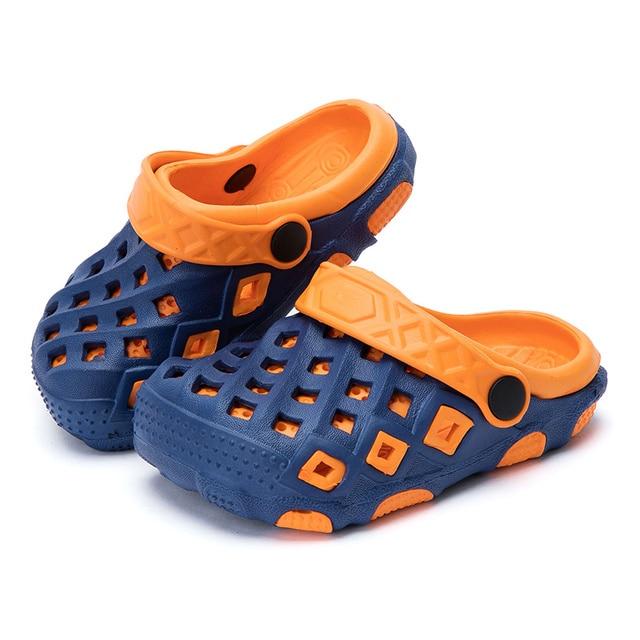 Fashion 2017 New Summer Children Shoes Girls Boys Slippers Cute Comfortable  Fashion Kids Slippers Anti-Slip Girls Slippers Beach 5cb10f061e4