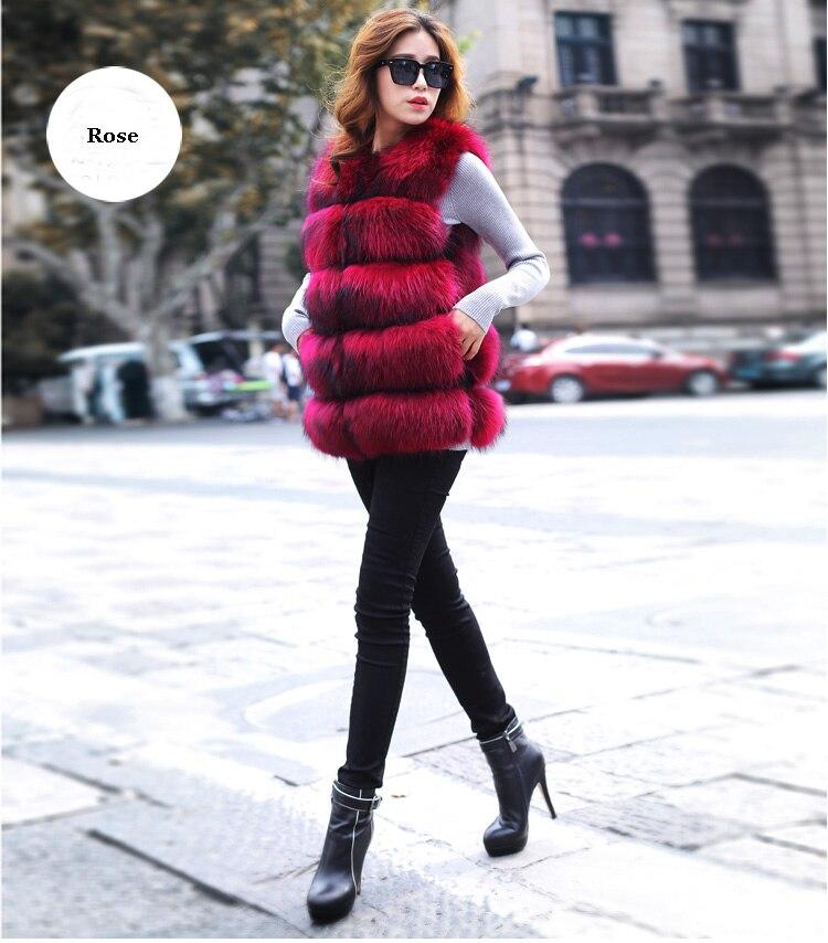 Gilet Vraie Raton Laveur La De Survêtement Femmes Fourrure natural Hiver Color Manteau black Pardessus Et Réel En Cuir Rose wSq8AYx1