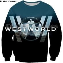 PLstar Cosmos New TV Westworld Casual Dolores 3D Print Geisha Sweatshirt new style fashion hoodies tops drop shipping
