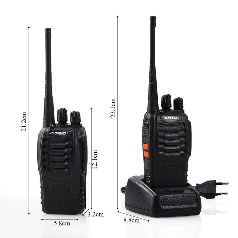 Baofeng BF-888S jouet Rechargeable talkie-walkie set interphone téléphone jouet professionnel talky gadget émetteur-récepteur de poche P20 - 3