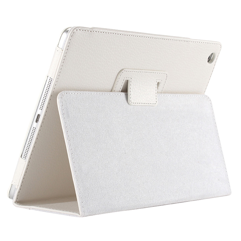 Business Flip Litchi Leather Case Smart Stand Holder For Apple ipad2 3 4 Magnetic Auto Wake Up Sleep CoverWhite business flip litchi leather case smart stand holder for apple ipad2 3 4 magnetic auto wake up sleep cover black