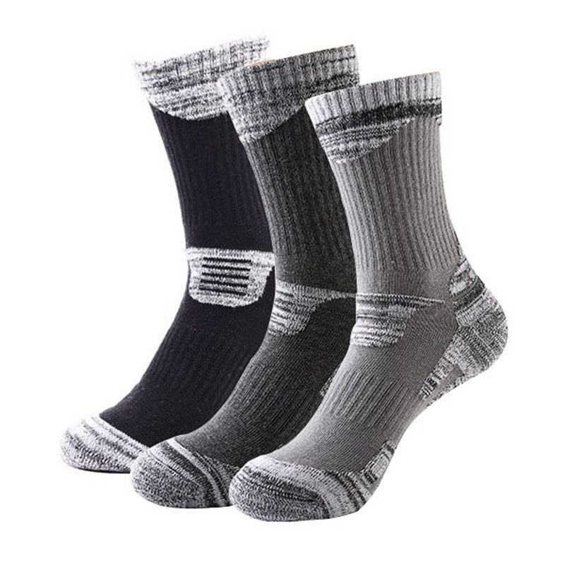Top Quality Winter Thermal Ski Socks Men Cotton Sport Snowboard Socks Cycling Skiing Soccer Socks Thermosocks Leg Warmers