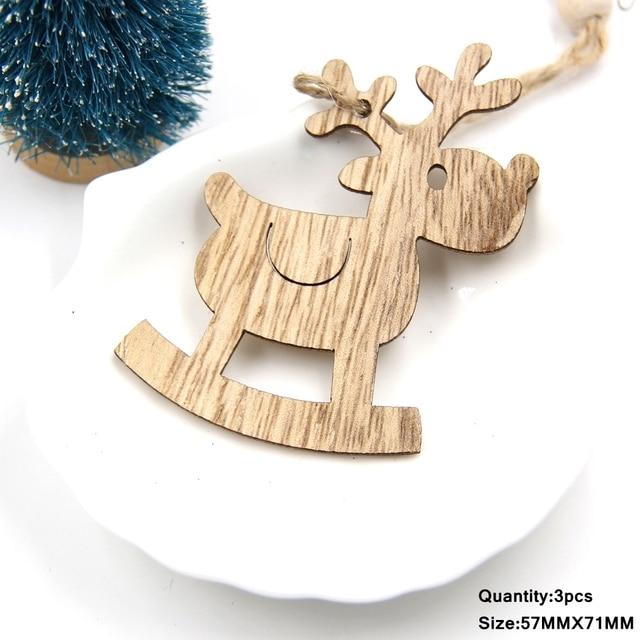Christmas Wooden Pendants