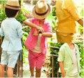 Envío gratis factory outlet XT-103 verano de los niños fijó estilo Coreano bebé juego de los muchachos embroma la ropa coat + pants 2 unidades venta al por menor