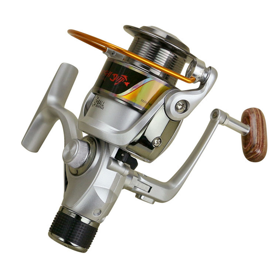 ECR2000-7000 12BB High Power Gear 5.2: 1 Metal Spinning Spool Cup Exchange Håndtak Fiske Reel Fishing Tackle Line Beit ECR