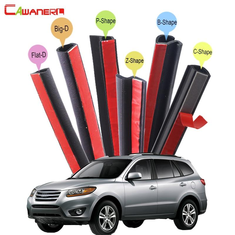 купить Cawanerl Whole Car Rubber Seal Sealing Strip Kit Weatherstrip Seal Edge Trim Fit For Hyundai Galloper i35 Trajet Santa Fe по цене 5406.48 рублей