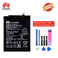 Original Hua Wei Batterie HB356687ECW für Huawei Mate 10 Lite Nova 2 Plus Nova 2i Ehre 9i Huawei G10 Ehre 7X3340 mAh + Werkzeuge