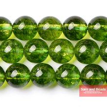 Натуральный камень Гладкой Оливково-зеленый кварц свободные Бусины 16 «прядь на возраст 6, 8, 10, 12 лет мм Палочки Размеры для изготовления ювелирных изделий ogqb01