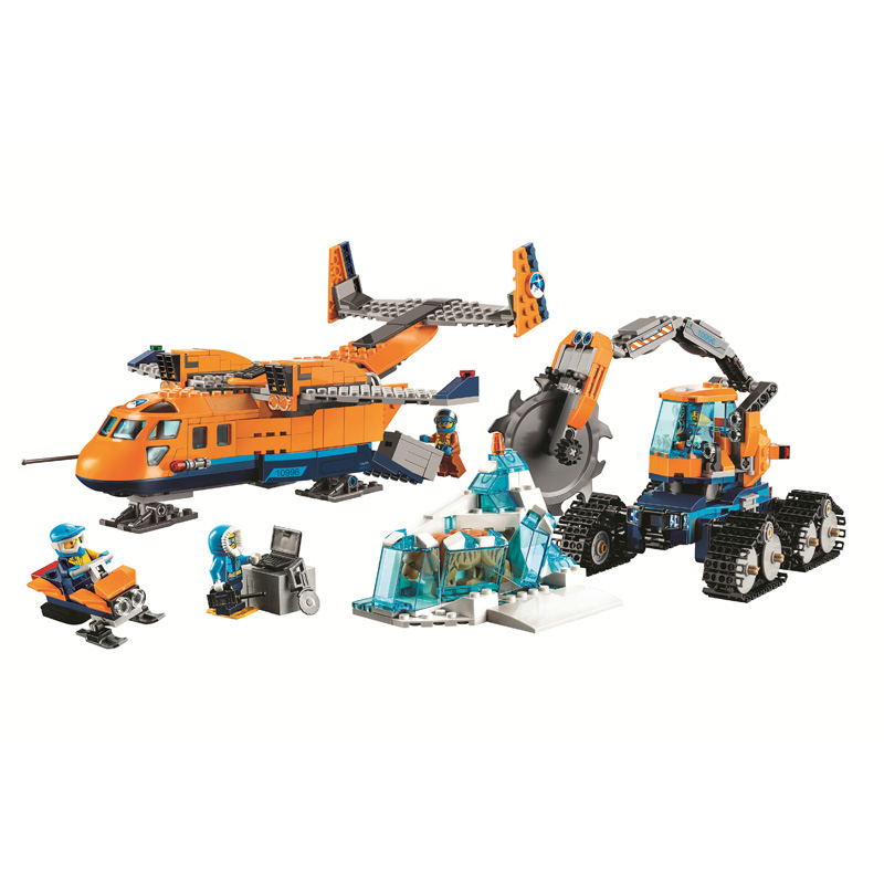 Bela Building Blocks Compatible Legoe city Polar Adventure police Helicopter Plane Truck Armored  Brick Toy gifts for childrenBela Building Blocks Compatible Legoe city Polar Adventure police Helicopter Plane Truck Armored  Brick Toy gifts for children