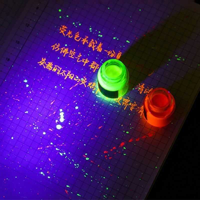 DROP Kapal & Grosir Non Carbon Luminous Fluorescence Fountain Pen Ink Refill Menulis Siswa Sekolah Alat Tulis 3 Juni