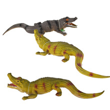 K24 2016 Hot Sell New Strange Little Crocodile Simulation Model Toy Animal Cognition Vent Tricky Sound