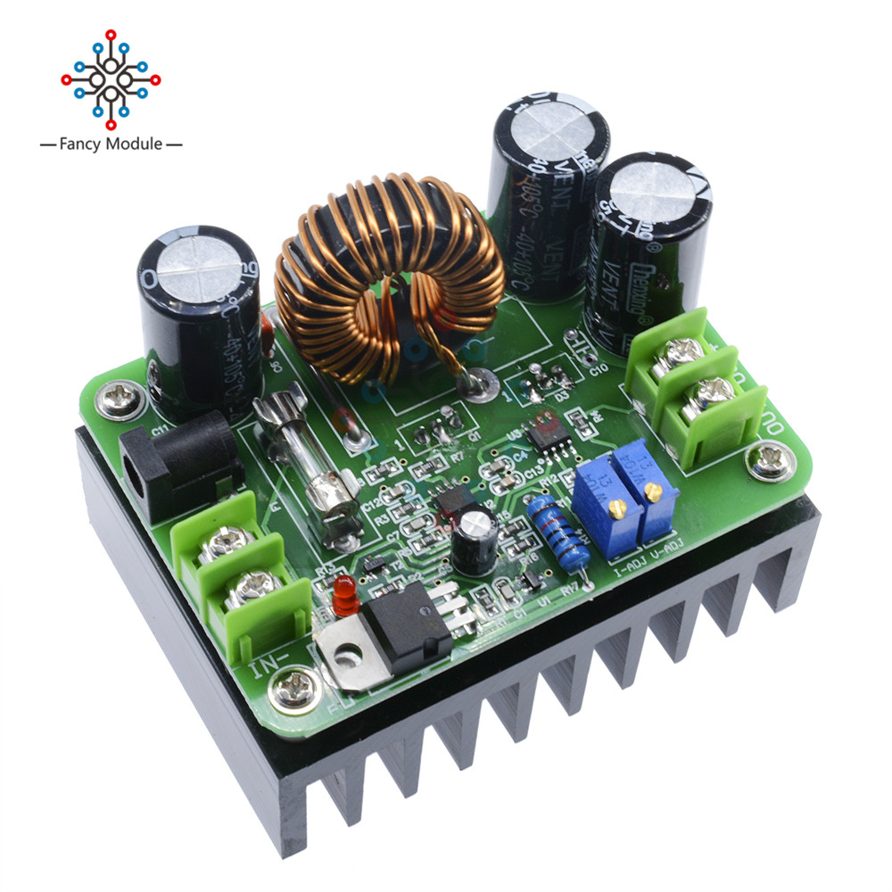 600W Boost Module Power supply DC-DC step up Constant Current Voltage 9v-60V to 12v-80V 48V 72V Booster converter