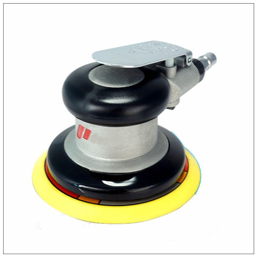 High Quality 5 125mm Pneumatic Sanders Air Eccentric Orbital Sanders Cars Polishers Air Tools 5 inch 125mm pneumatic sanders pneumatic polishing machine air eccentric orbital sanders cars polishers air car tools
